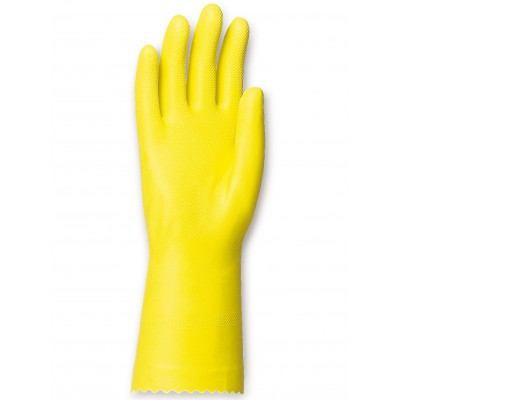 gant de protection chimique latex jaune