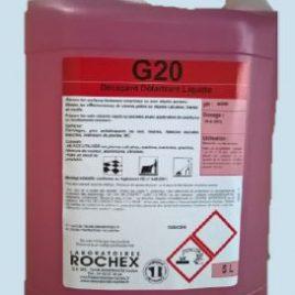 G20 détartrant décapant liquide